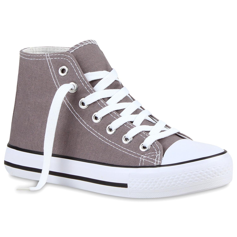 Damen Sneakers 890623 Hochschaft Falch Schnürer Schuhe Gr. 36-41