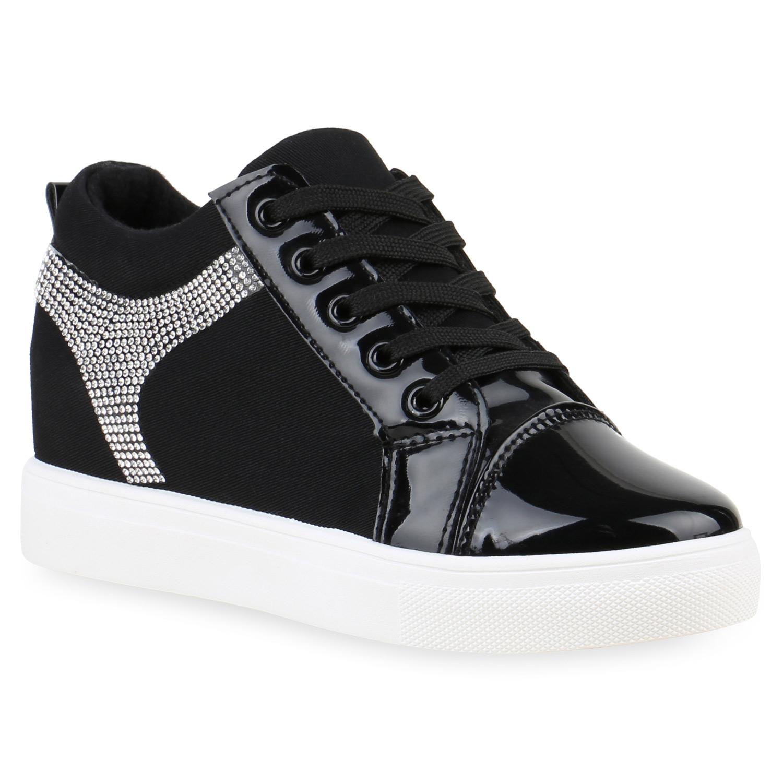 892815 sneaker wedges damen glitzer sneakers turnschuhe keil absatz new look ebay. Black Bedroom Furniture Sets. Home Design Ideas