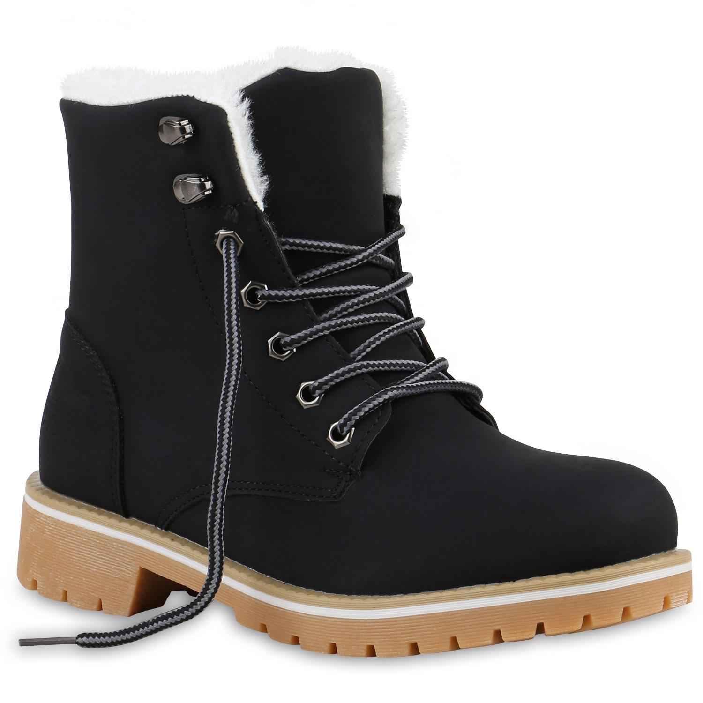Worker-Boots-Damen-Herren-Outdoor-Stiefeletten-Zipper-Gefuettert-