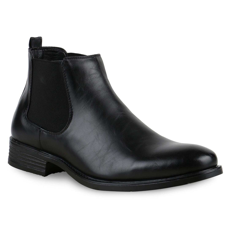 stylische herren chelsea boots business schuhe stiefel 813545 modatipp ebay. Black Bedroom Furniture Sets. Home Design Ideas