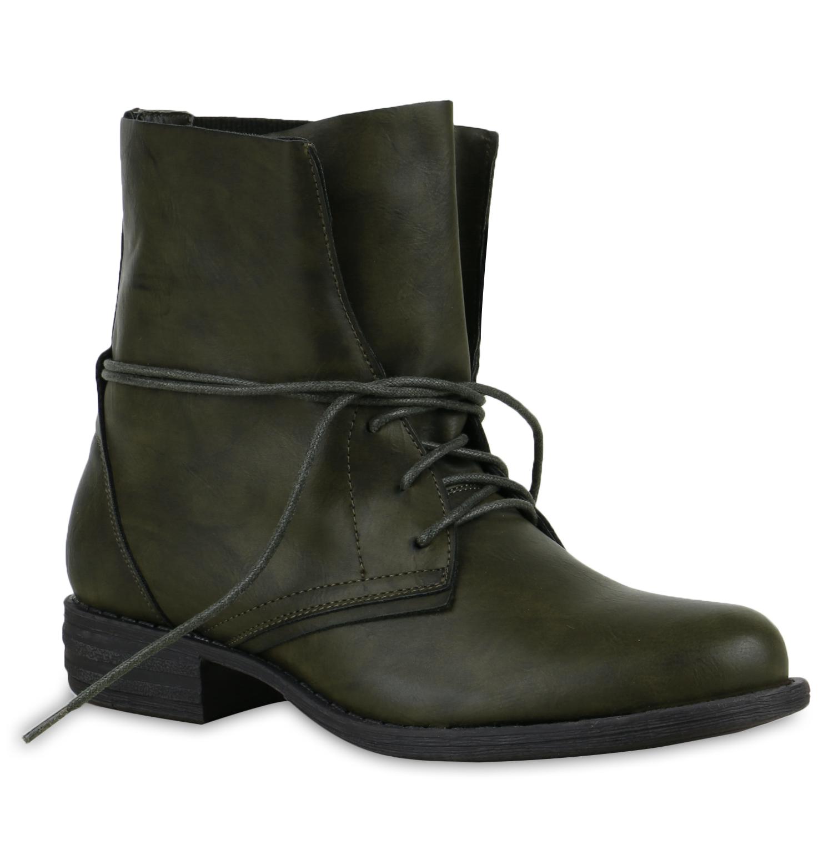 luftige sommer damen worker boots stiefeletten stiefel leder optik 78860 schuhe ebay. Black Bedroom Furniture Sets. Home Design Ideas