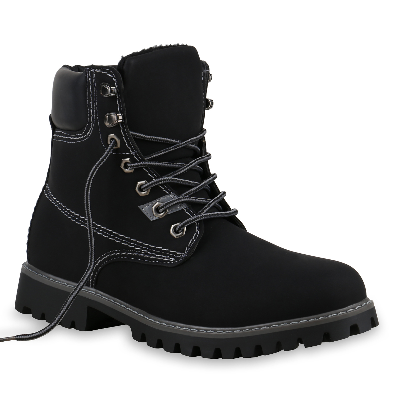 gef ttert herren outdoor worker boots schn rstiefel. Black Bedroom Furniture Sets. Home Design Ideas
