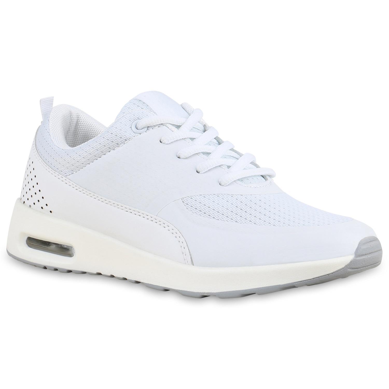 Damen Herren Sportschuhe Runners Laufschuhe Sneakers Neon 75945 Top
