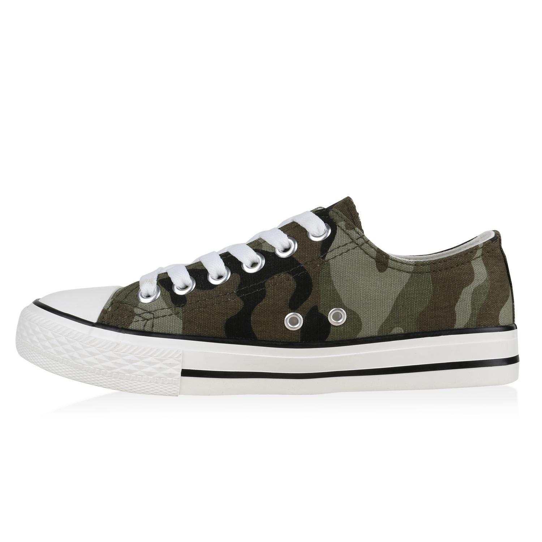 damen schuhe 134156 sneakers camouflage 37 fashiontipp ebay. Black Bedroom Furniture Sets. Home Design Ideas