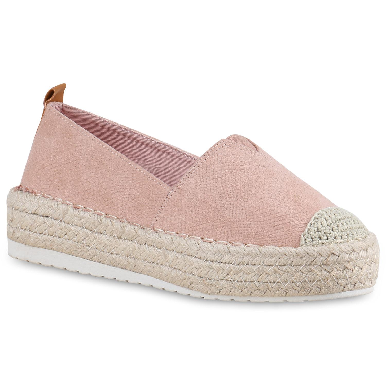 Schuhe Damen B&C Espadrille leichte Freizeit