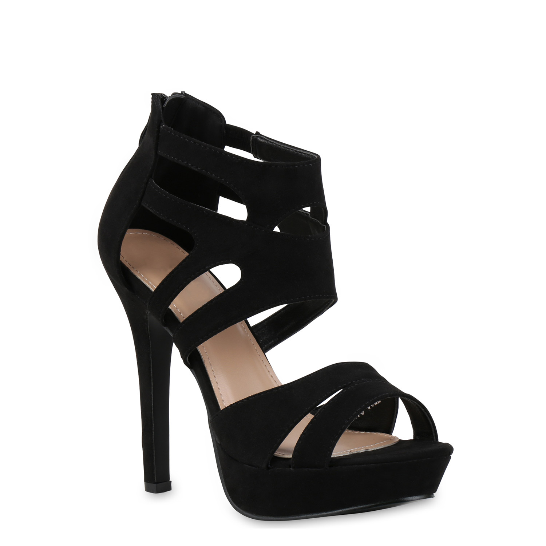 damen sandaletten high heels strass plateau stilettos party 814768 new look  ebay 9ef71a6a2f