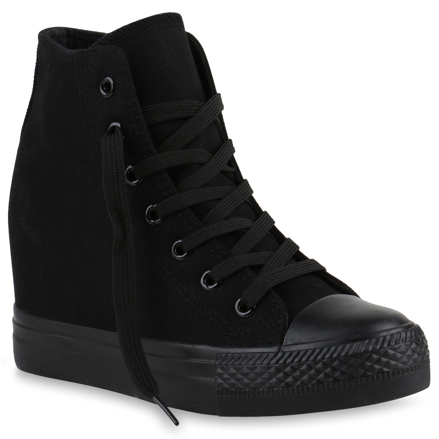 damen kinder herren sneakers keilabsatz sneaker wedges stoffschuhe 816724 schuhe ebay. Black Bedroom Furniture Sets. Home Design Ideas