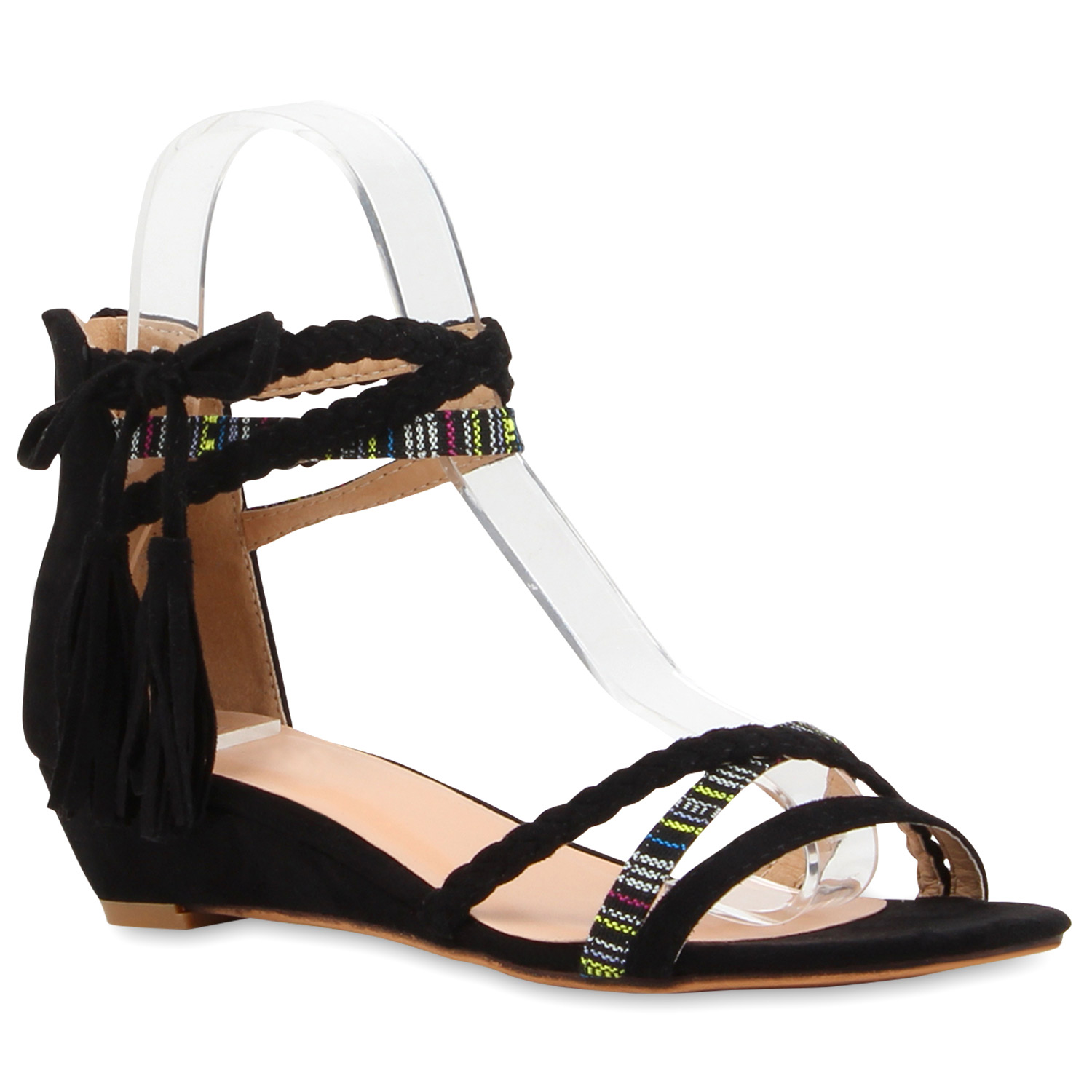 damen sandalen strass riemchensandalen flats sommerschuhe 816907 schuhe ebay. Black Bedroom Furniture Sets. Home Design Ideas
