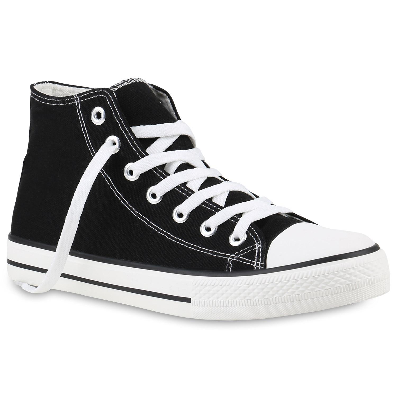 herren sneakers sneaker high basic schuhe stoffschuhe 817963 trendy neu ebay. Black Bedroom Furniture Sets. Home Design Ideas