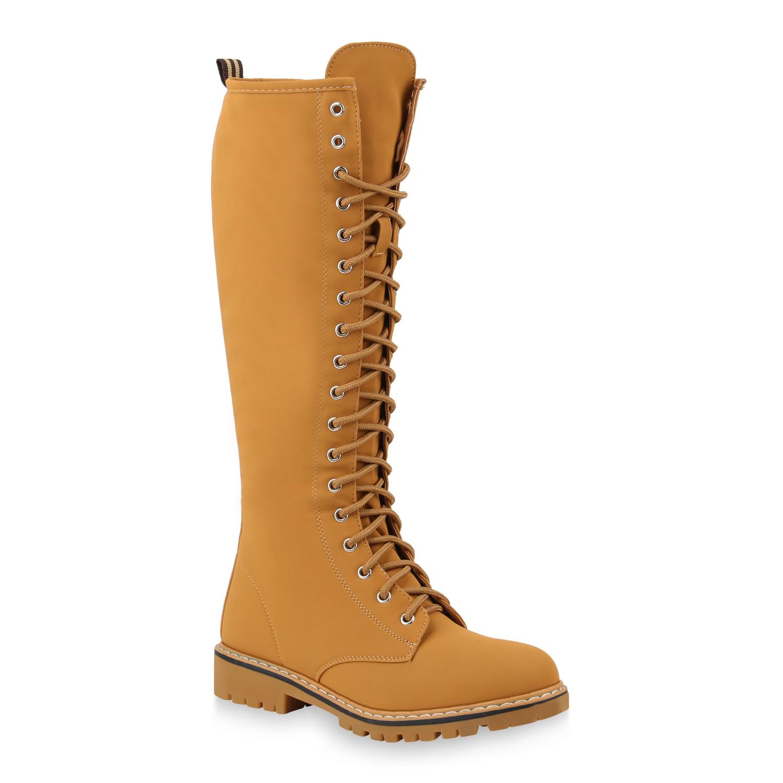 b4a3e830929b 893541 Damen Stiefel Worker Boots Outdoor Schuhe Leicht Gefüttert ...