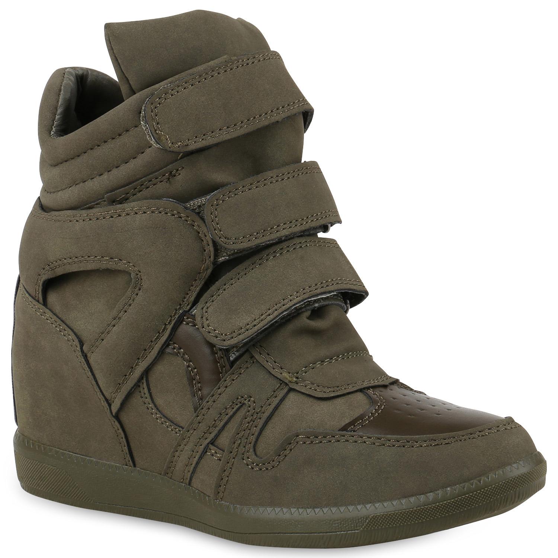 damen sneaker wedges keilabsatz trendy schuhe sneakers high 891915 trendy ebay. Black Bedroom Furniture Sets. Home Design Ideas