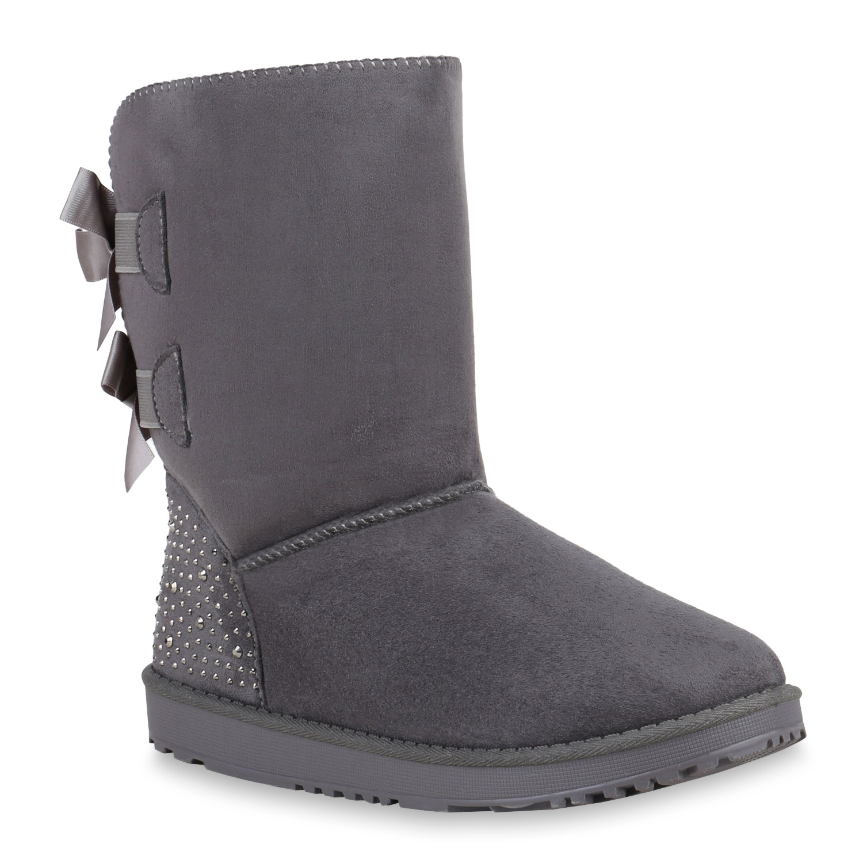 warme winter boots damen stiefel 94767 gr 36 41 schuhe ebay. Black Bedroom Furniture Sets. Home Design Ideas