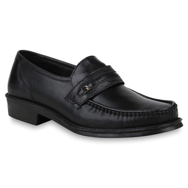 herren business schuhe klassische slippers leder slip ons 820215 trendy neu ebay. Black Bedroom Furniture Sets. Home Design Ideas