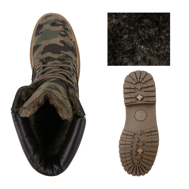 trendstyle herren schuhe 153886 boots camouflage 43 ebay. Black Bedroom Furniture Sets. Home Design Ideas