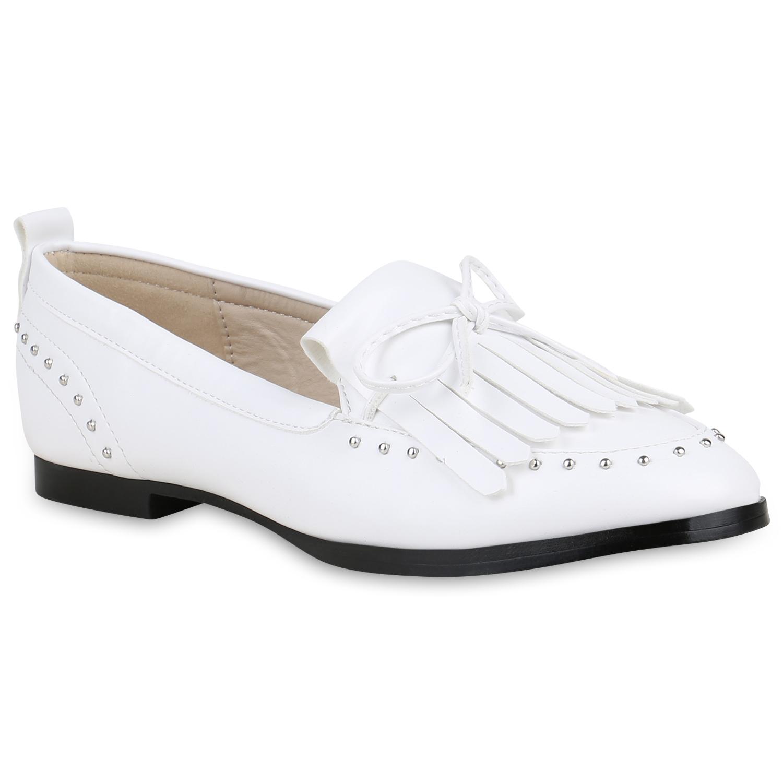 Damen Klassische Slippers Fransen Nieten Schleifen Freizeit zapatos 821733  zapatos Freizeit 53e983