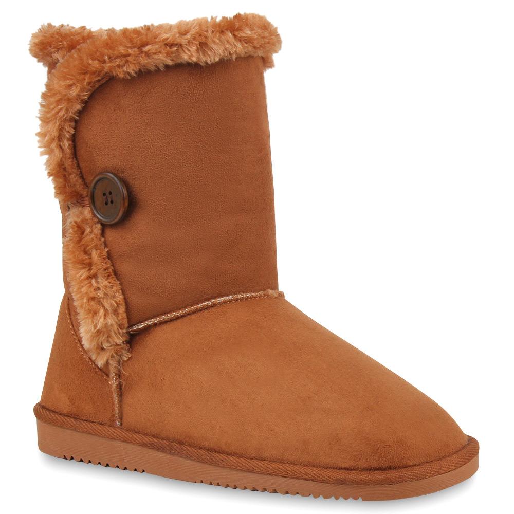 Bequeme Boots Stiefel 95099 Damen Gr en 36 42 Schuhe
