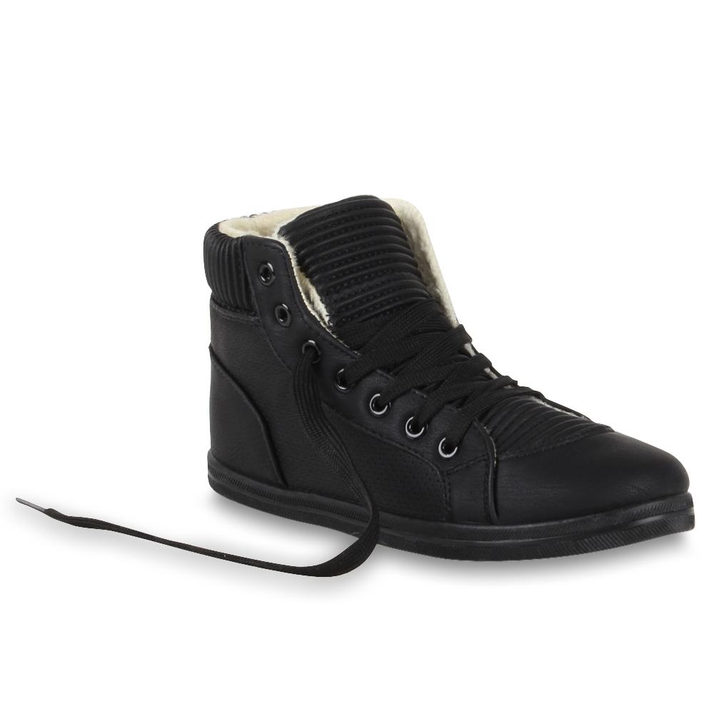 mega coole damen sneaker schuhe kn chel hoch 95192 ebay. Black Bedroom Furniture Sets. Home Design Ideas