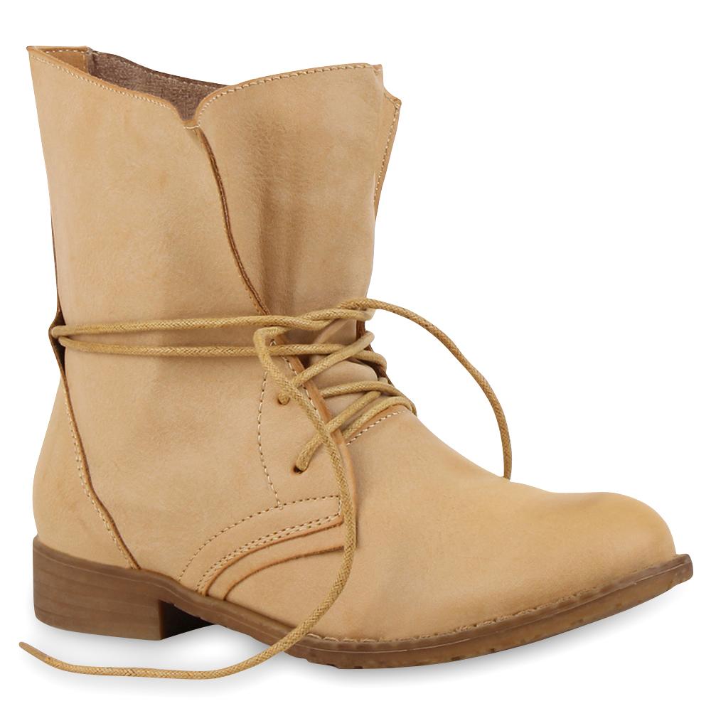 Schn rboots Schn rer Damen Stiefel Stiefelette 95410 Schuhe Gr. 36 41 Top