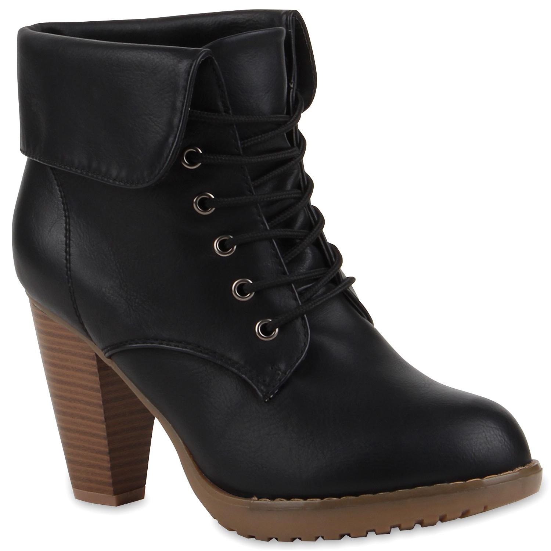 fbb0948c6f8 cordones Bloque moda 41 mujer zapatos de para 95414 Botas 36 de con tacón  Botines cordones ...