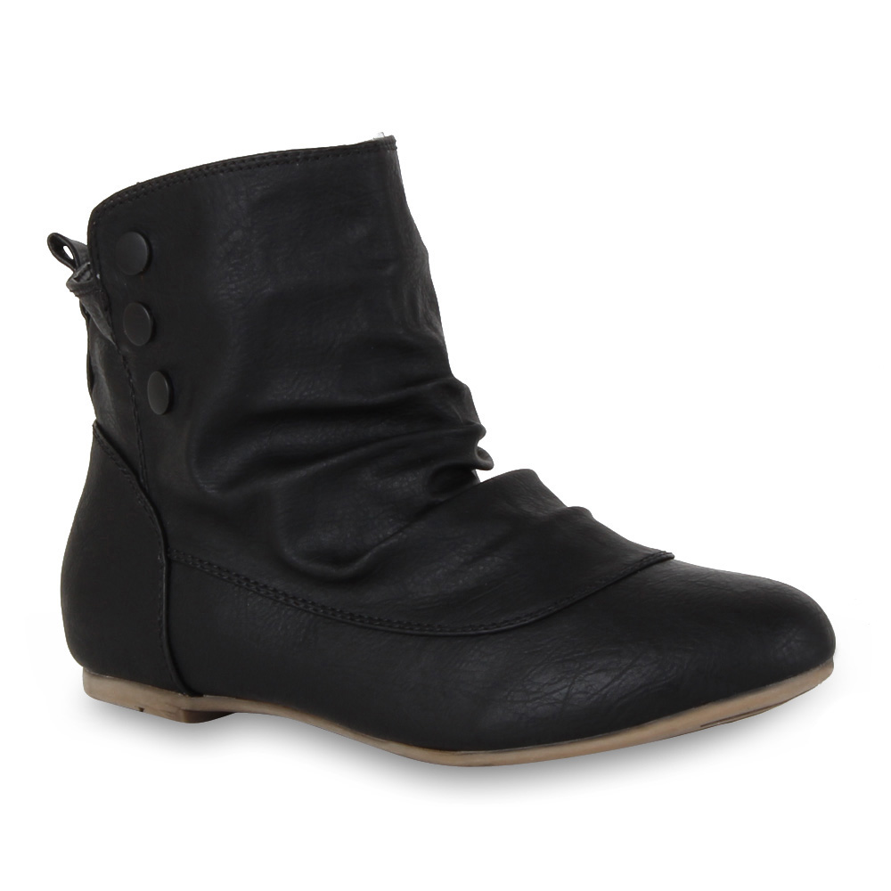bequeme flache damen stiefeletten ankle boots schuhe 98249 gr 36 41 new look ebay. Black Bedroom Furniture Sets. Home Design Ideas