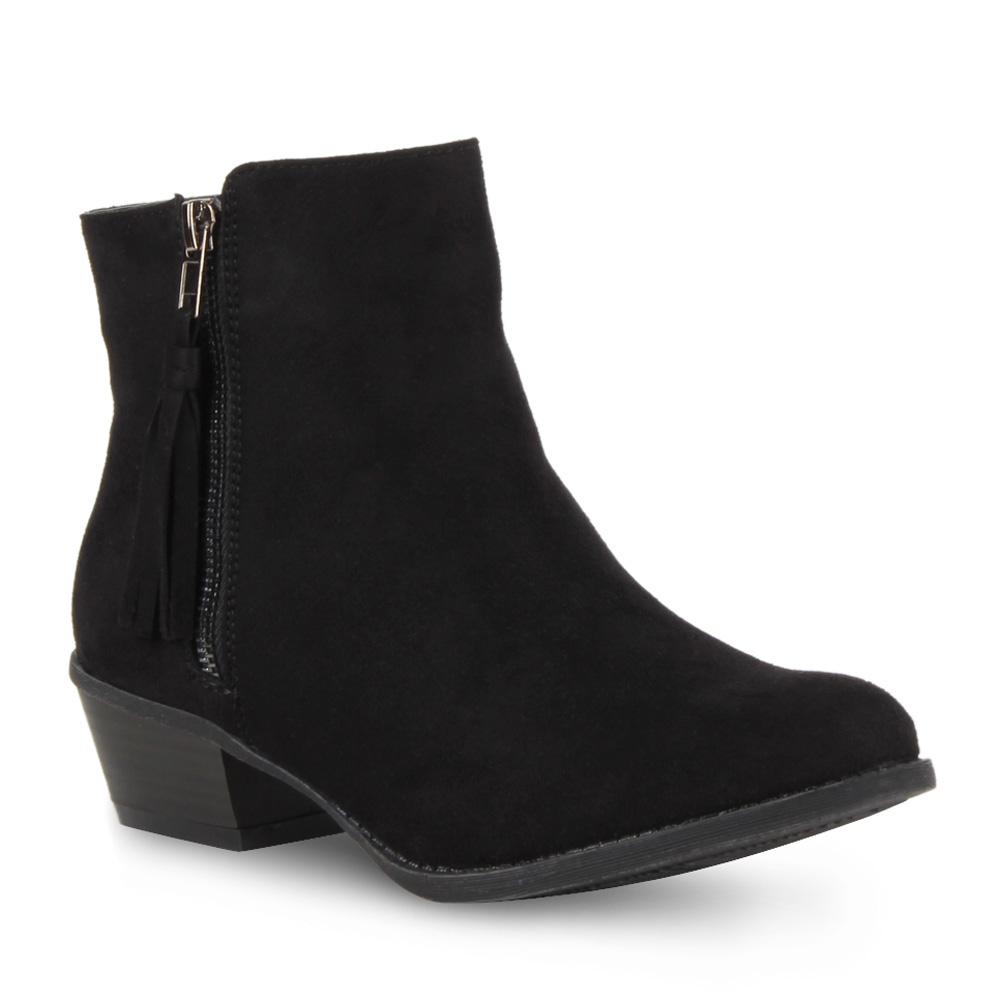 modische damen ankle boots flache stiefeletten lederoptik schuhe 98376 gr 36 41 ebay. Black Bedroom Furniture Sets. Home Design Ideas