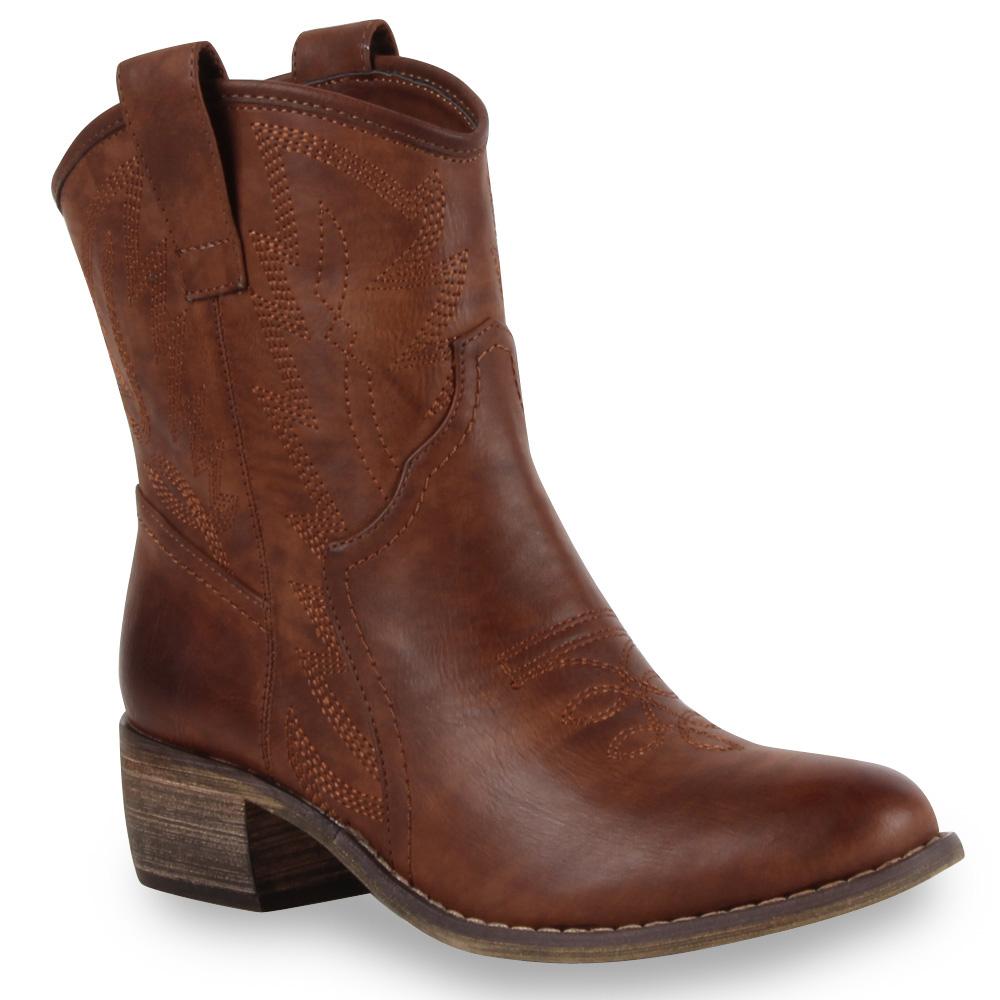 damen cowboy stiefeletten biker boots 99302 gr 36 41 schuhe ebay. Black Bedroom Furniture Sets. Home Design Ideas