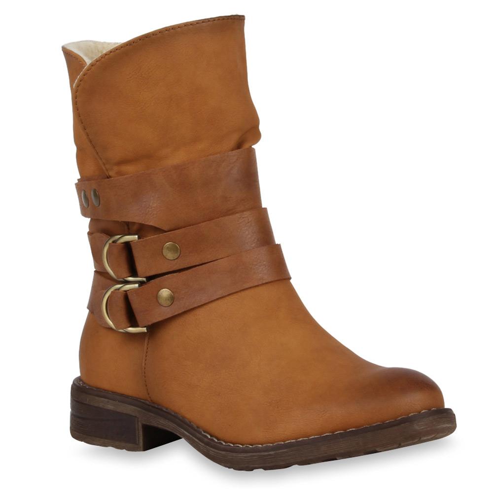 damen stiefeletten gef tterte biker boots schuhe 98694 gr 36 41 new look ebay. Black Bedroom Furniture Sets. Home Design Ideas