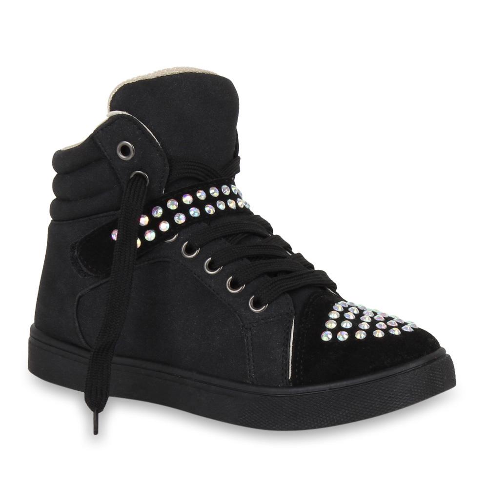 coole damen sneakers sportschuhe schmucksteine schuhe. Black Bedroom Furniture Sets. Home Design Ideas
