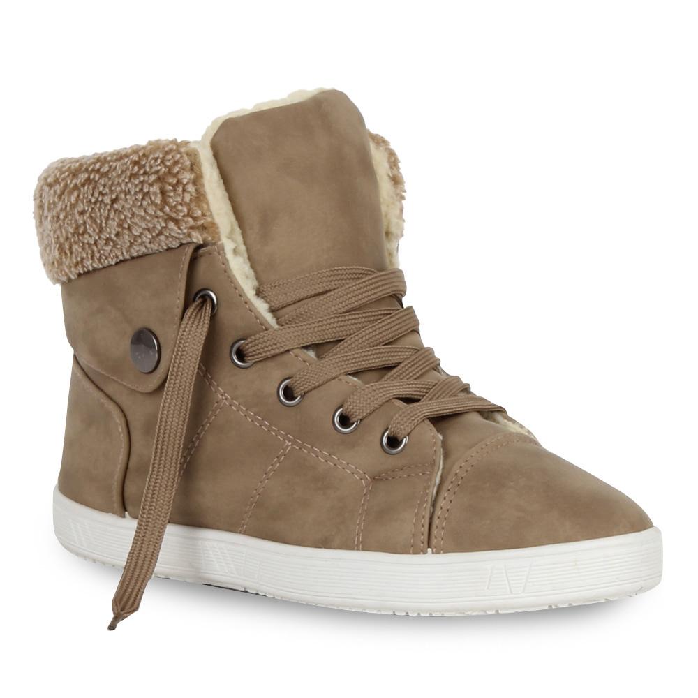 warme damen sneakers winter sportschuhe gef ttert 98980 36 41 stylisch schuhe ebay