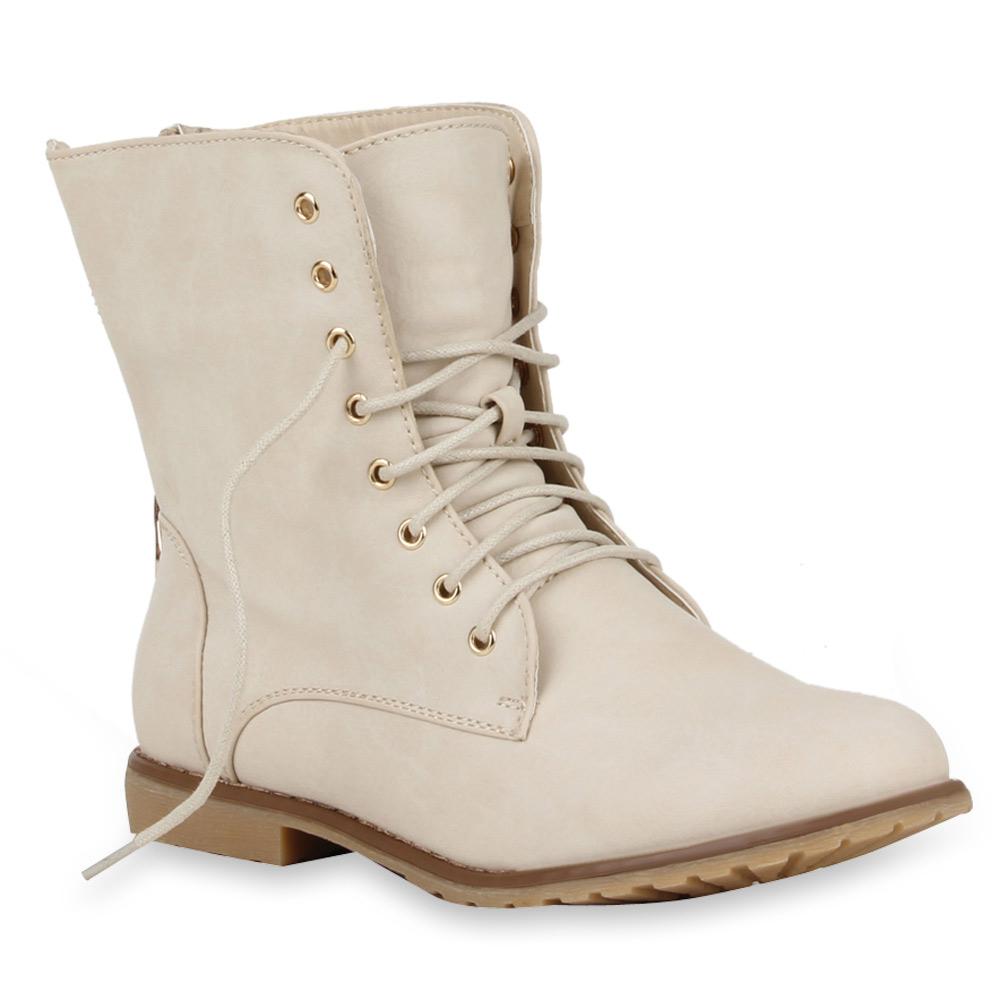 9573a9ca1da4a4 Coole Damen Worker Boots Stiefeletten 70849 Schuhe Gr. 36-41 Modatipp