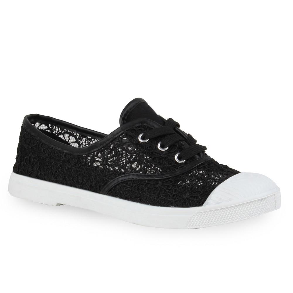 damen sneakers spitze freizeit schuhe pastell 71747 ebay. Black Bedroom Furniture Sets. Home Design Ideas