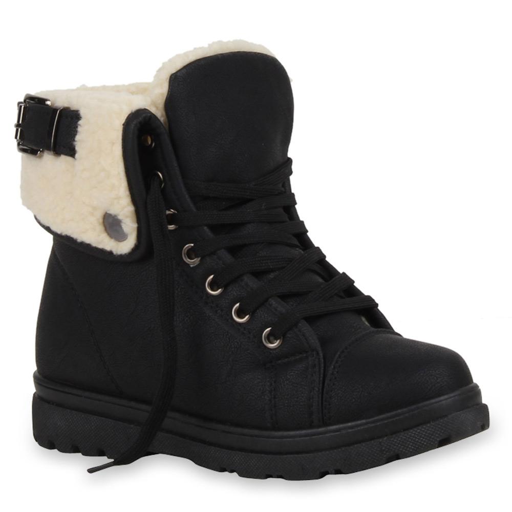 Warm Gef ttert Damen Stiefeletten Outdoor Boots Schuhe 72803 Trendy