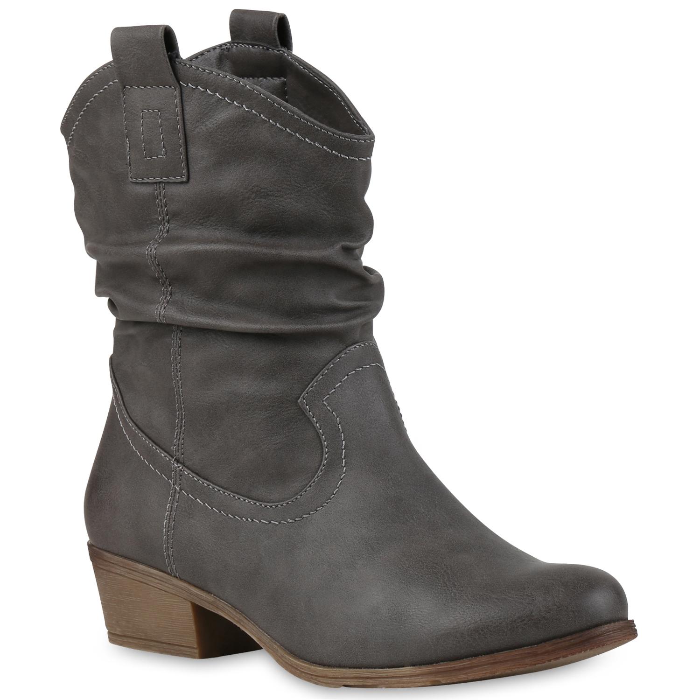 Lässige Damen Cowboy botas Western Stiefeletten zapatos 70937 Stiefel Gr. 36-41 zapatos Stiefeletten c98a7e