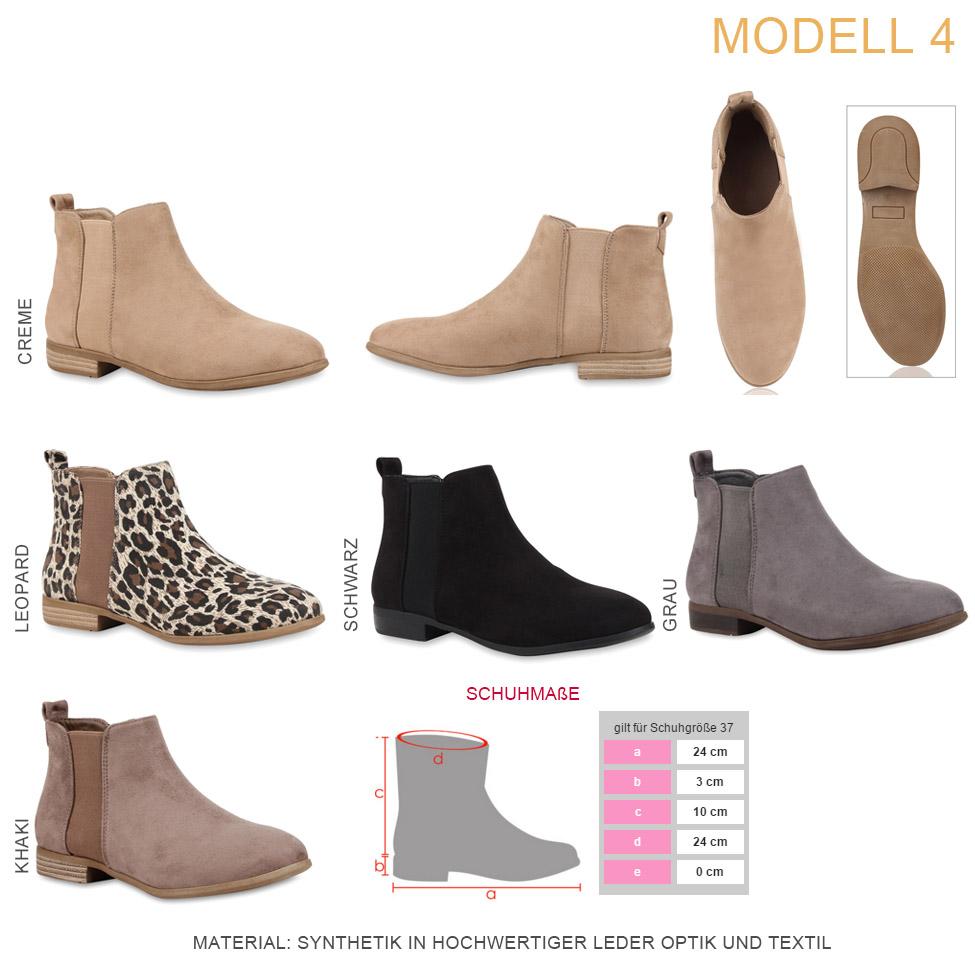 Details zu Flache Damen Stiefeletten Spitze Ankle Boots Schuhe 74544 Hot c049cac31c