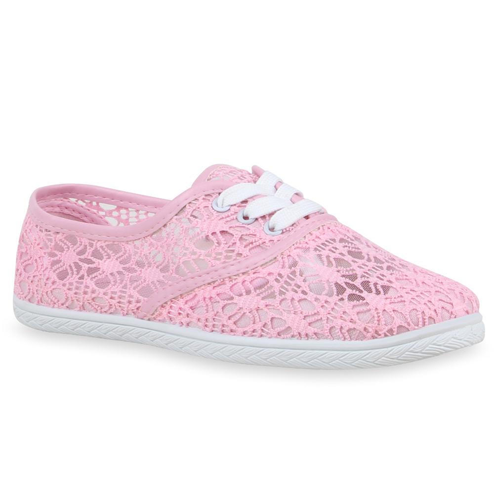 Sneakers 74602 Schuhe Freizeit Pastell eBay Damen Spitze 6wq7vdd e06852ee2d