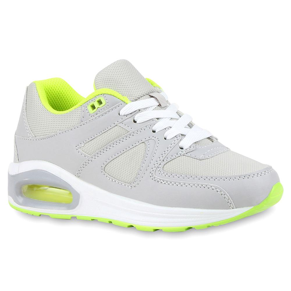 Damen Sportschuhe Runners Neon Laufschuhe Sneakers 74823 Trendy