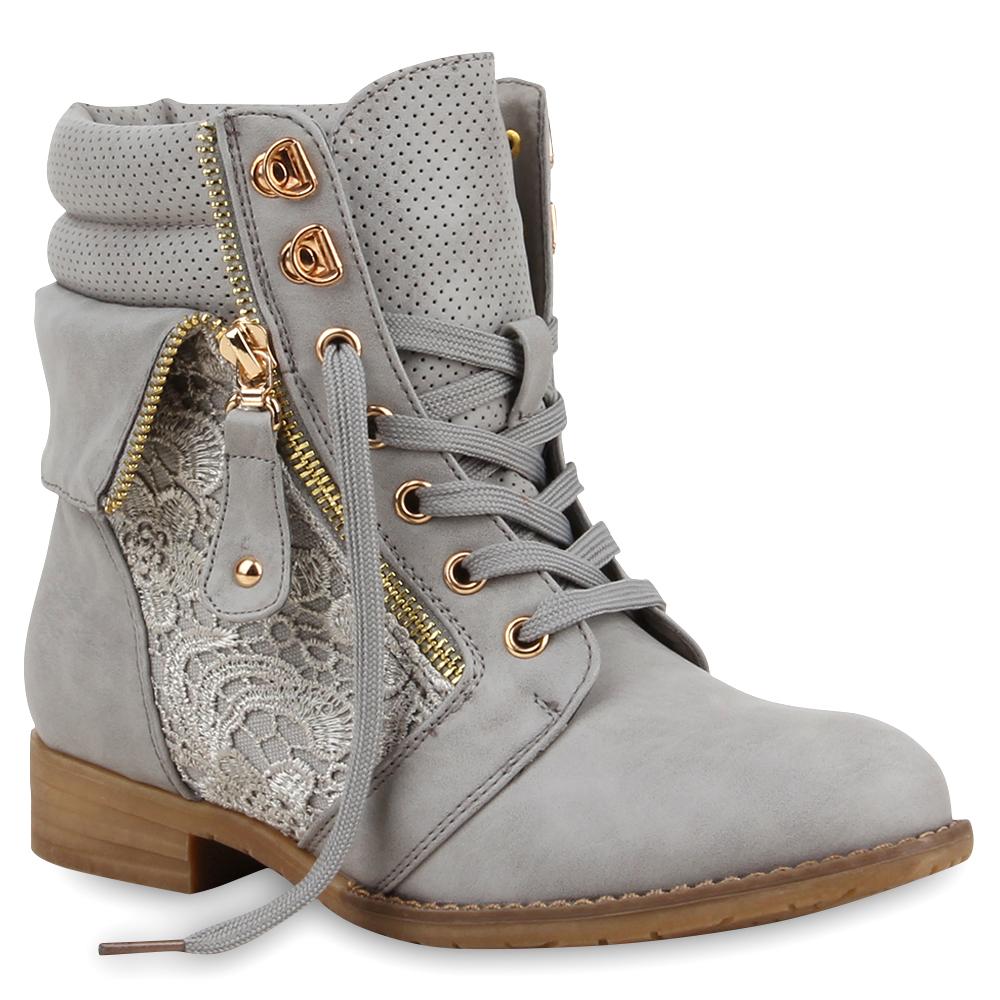 Spitze Schuhe. damen stiefeletten worker boots spitze